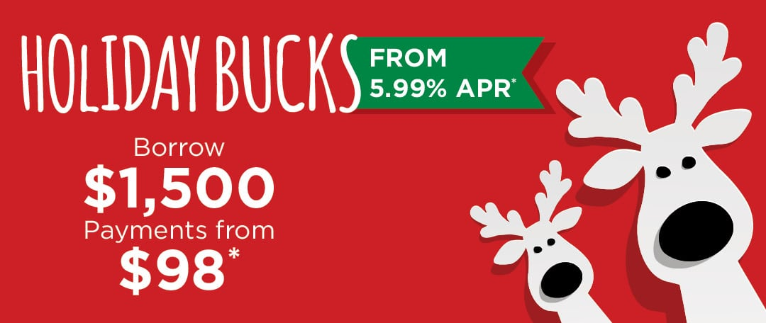 Graphic: Holiday Bucks Promotion