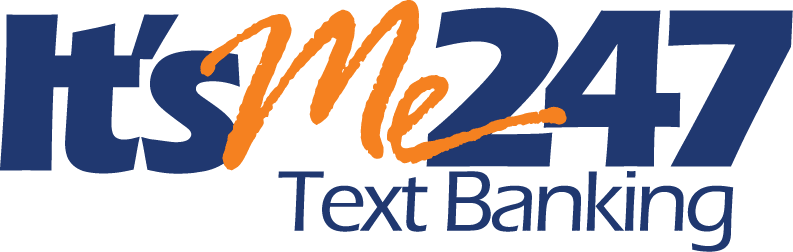 Logo: It'sMe247 Text Banking