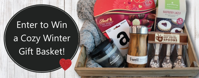 Enter to Win a Gift Basket for our February Member Appreciation Giveaway.