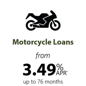 Last Chance for Motorcyle Loans from 3.49% APR*