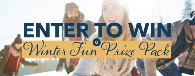 Enter to Win our Winter Fun Prize Pack