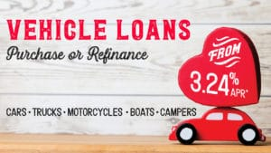 Vehicle Loans from 3.24% APR*