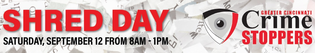 Crime Stoppers Shred Day